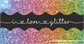 Illustration of font Mf I Love Glitter