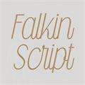 Illustration of font Falkin Script PERSONAL