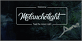 Illustration of font Melancholight