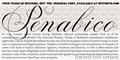 Illustration of font Penabico LIMITED FREE VERSION