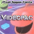 Illustration of font Videopac