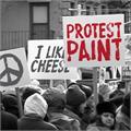 Illustration of font ProtestPaint BB