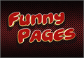 Illustration of font Funny Pages