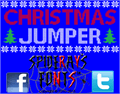 Illustration of font Christmas Jumper