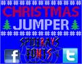 Illustration of font Christmas Jumper