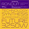 Illustration of font Ronduit Capitals Light