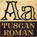 Illustration of font FHA Mod Tuscan Roman NCV