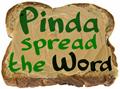 Illustration of font Pinda