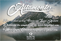 Illustration of font Altamonte Personal Use