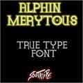 Illustration of font Alphin Merytous St