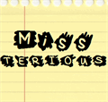 Illustration of font MissTerious