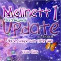 Illustration of font Melinett 1