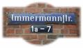 Illustration of font Immermann