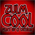 Illustration of font Zulm Cool