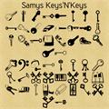 Illustration of font Samys Keys'N'Keys