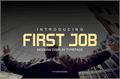 Illustration of font First Job