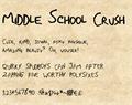 Illustration of font MiddleSchoolCrushNBP