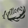 Illustration of font Antlers Demo