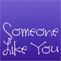 Illustration of font Janda Someone Like You