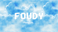 Illustration of font FOUDY