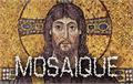 Illustration of font Mosaique