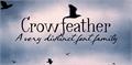 Illustration of font Crowfeather Script DEMO