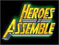 Illustration of font Heroes Assemble