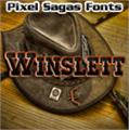 Illustration of font Winslett