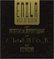 Illustration of font Enila