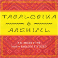 Illustration of font Tagalogika