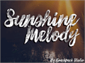 Illustration of font Sunshine_Melody
