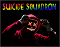 Illustration of font Suicide Squadron