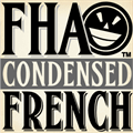 Illustration of font FHA Condensed French