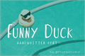 Illustration of font Funny Duck