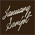 Illustration of font January Script Personal Use