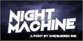 Illustration of font Night Machine