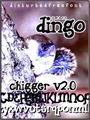 Illustration of font Dingo