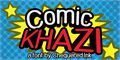 Illustration of font Comic Khazi