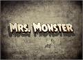 Illustration of font Mrs. Monster