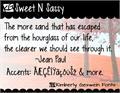 Illustration of font KG Sweet N Sassy