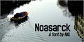 Illustration of font Noasarck
