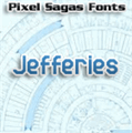 Illustration of font Jefferies