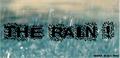 Illustration of font The Rain
