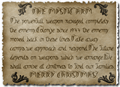 Illustration of font Mystic-Arm