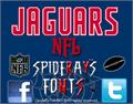 Illustration of font NFL Jaguars