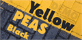Illustration of font Yellow Peas Demo Black