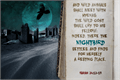 Illustration of font Nightbird