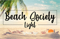 Illustration of font Beach Society Light