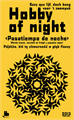 Illustration of font H0bby of night