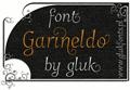Illustration of font Garineldo